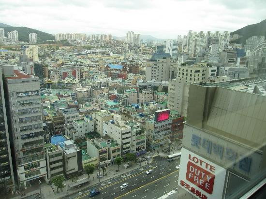 Lotte Hotel Busan: View