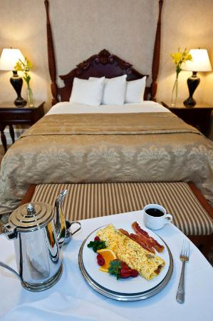 French Lick Springs Hotel: In Room Breakfast