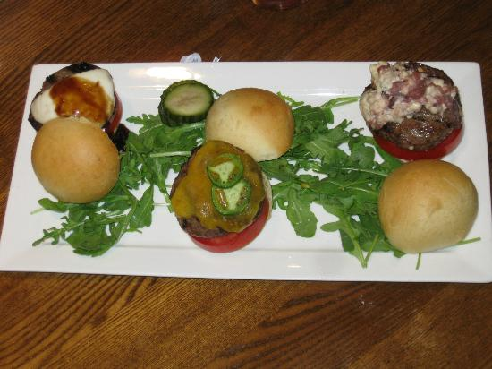 Bottlest Winery, Bar & Bistro: Sliders (awesome!). Served extra rare.
