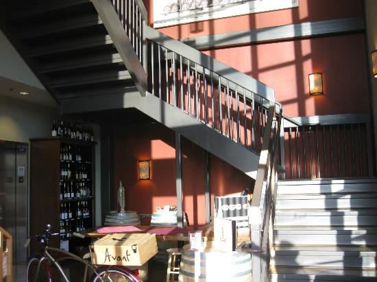 Bottlest Winery, Bar & Bistro: Head up the stairs (to the right).