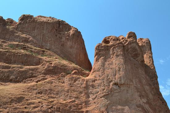 Jardín de los dioses (Garden of the Gods): balanced rock