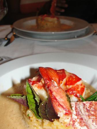 Chez Astoux : Lobster rissoto