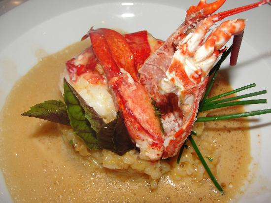 Chez Astoux : Lobster Rissoto
