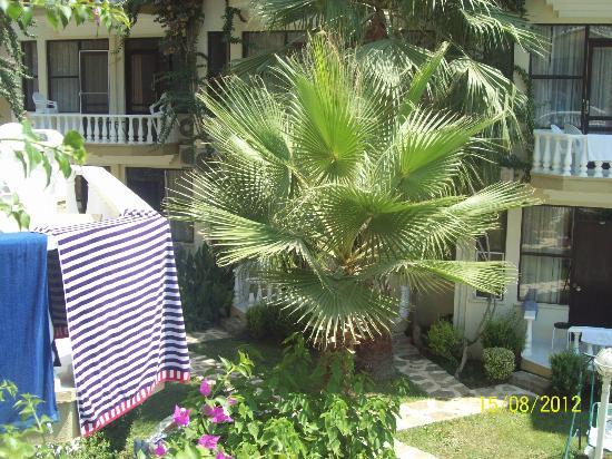 Club Hotel Rasputin: Вид с балкона