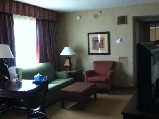 Doubletree by Hilton Atlanta Roswell : Sitting area in room