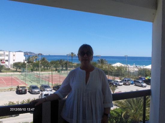 Grand Palladium Palace Ibiza Resort & Spa : vista mare
