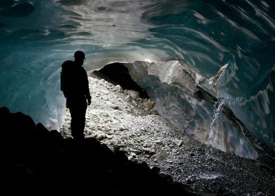St. Elias Alpine Guides Day Adventures: Inside a glacier!
