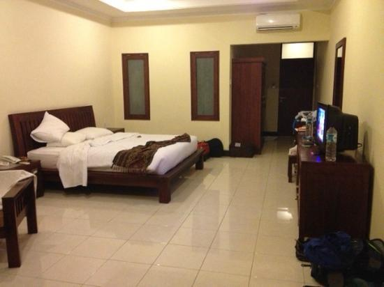 กูสุม่ารีสอร์ท: Room 201