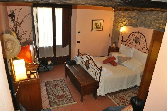 Rugapiana Vacanze: Our room on the top floor