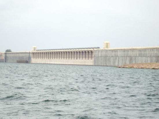 Nagarjuna Sagar Dam : the dam