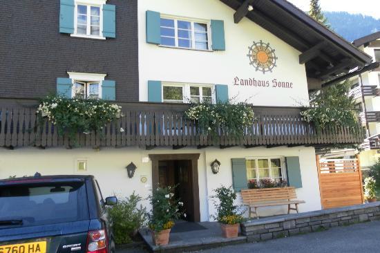 Außenansicht - Picture of Hotel Landhaus Sonne, Brand - TripAdvisor