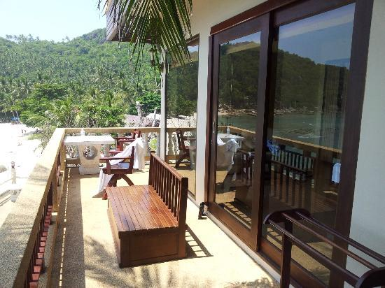 Crystal Bay Beach Resort: Balcony