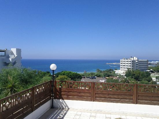 Bella Napa Bay Hotel: The View