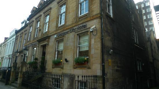 BEST WESTERN Glasgow City Hotel: Fachada e entrada do hotel