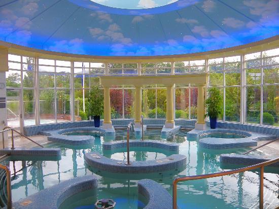 The Spa Swimming Pool Picture Of Chewton Glen Hotel Spa New Milton Tripadvisor