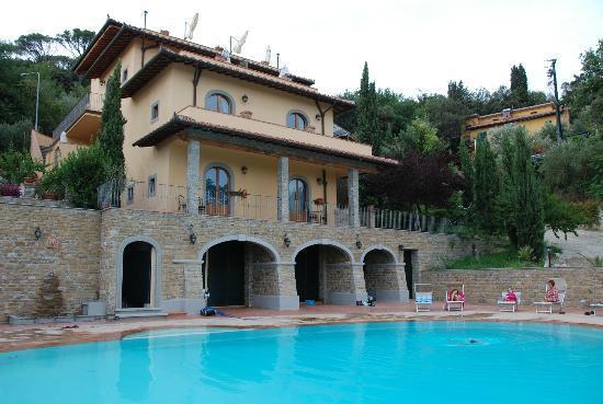 Villa La Malva: Vista hotel e piscina