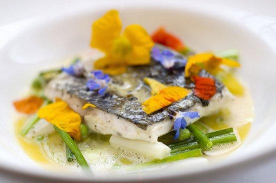 Glass Brasserie: Truffle poached jewfish