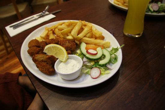 The Hook and Line: scampi frit