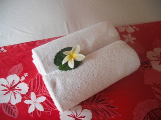 The Cooks Oasis Holiday Villas: Towels