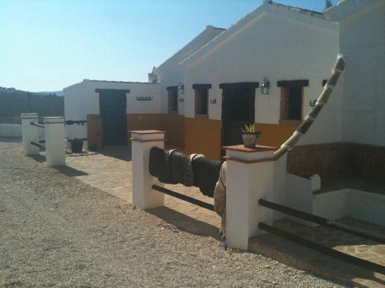 El Rancho: The stables and tack room
