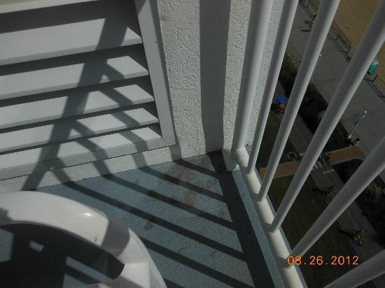 Dolphin Inn: balcony