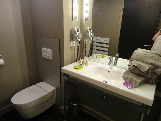Best Western Plus Up Hotel : Fab bathroom