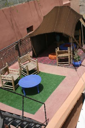 Riad Dar Tiflet: On the roof