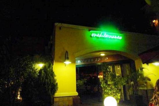 Mediterraneo Ristorante: Mediterraneo at night