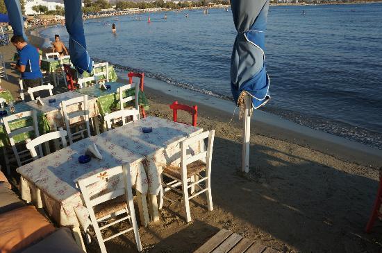 Nissaki Beach Hotel Naxos : la plage