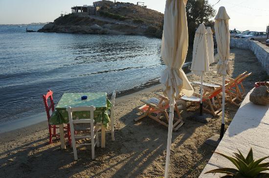 Nissaki Beach Hotel Naxos: la plage bis