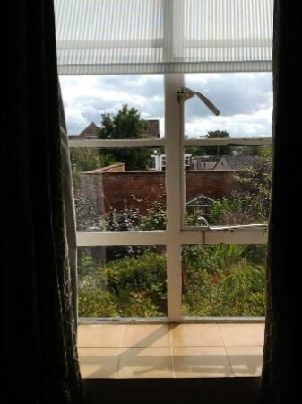 The Old Vicarage: garden view