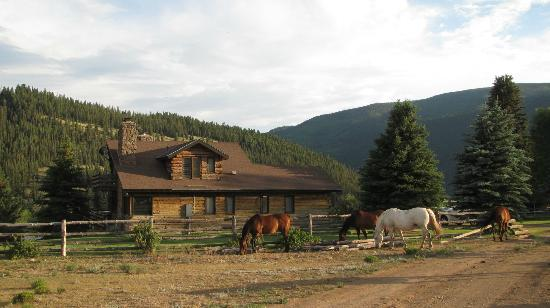 South Fork, CO: The main house