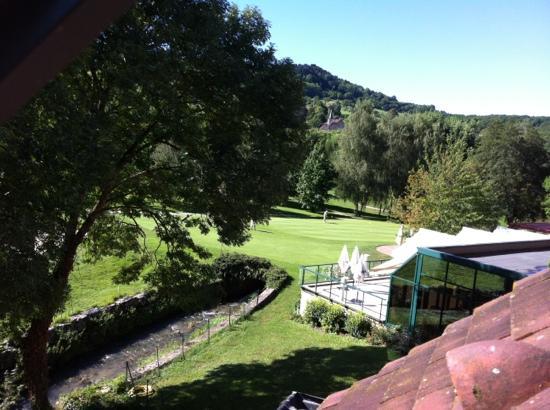Domaine du Val de Sorne : vue de la chambre 207