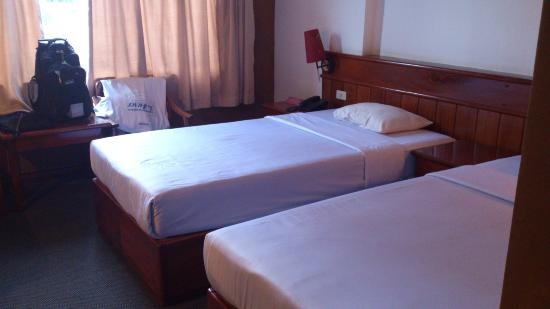 โรงแรมพรินเซส: 部屋