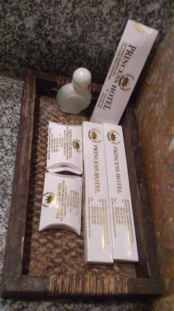 โรงแรมพรินเซส: 洗面用具