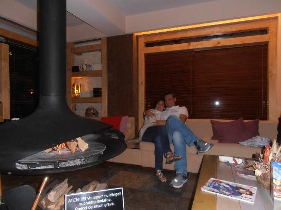 Ioana Hotel: Sala di incontro-reception