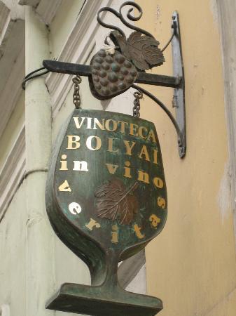Cluj-Napoca, Romania: Vinoteca Bolyai