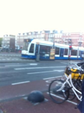 New West Inn Amsterdam: tramway