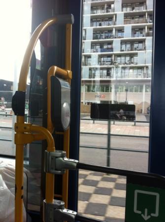 New West Inn Amsterdam: Ne pas oublié de Check out ! sinon le ticket n'est plus valable :-(