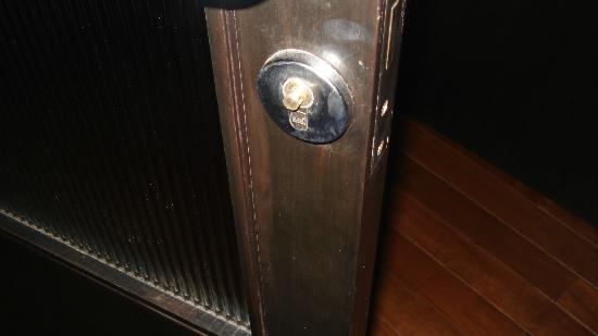 The Sea Koh Samui Boutique Resort & Residences: don't touch the door no more handle!