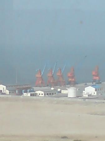 Pearl-Continental Hotel Gwadar: harbor view from the room