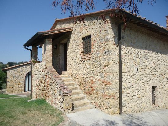 Villa Dini: Entrée location pour 9 personne
