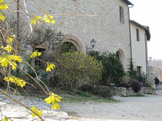 Il Castello di Sismano: Ingresso ristorante