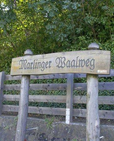 Meran Waalrunde: inizio del percorso