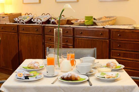 Hotel Le Grazie: colazione