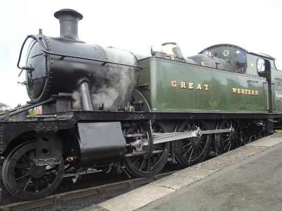 Severn Valley Railway: Steam up at SVR Kidderminster