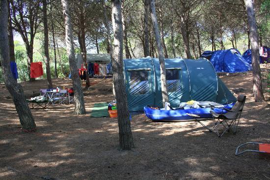 Narbolia, Italien: La nostra tenda