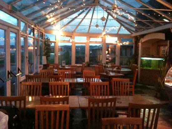 The Station house: Dining in the Conservatory