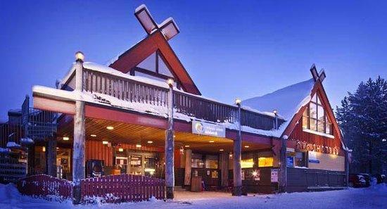 Lapland Hotel Akashotelli: Äkäshotelli outside wintertime