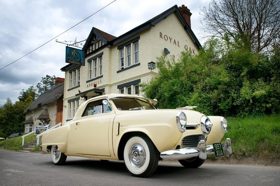 Helen Browning's Royal Oak: classic cars, great books and food